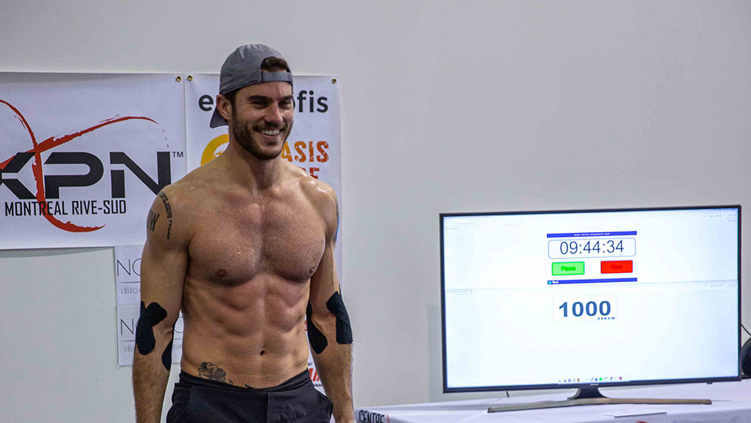 This Canadian did 12 hours of burpees and raised $58,000 to honor the memory of his late brother
