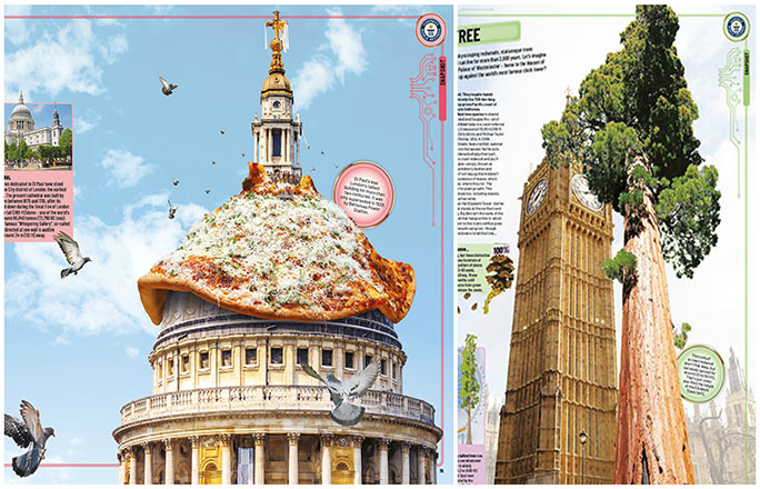 The 'snapshot' features in GWR 2020 compare some of our super-sized record holders with iconic London landmarks