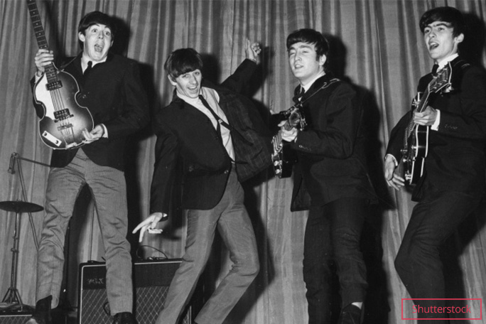 The Beatles Fab Four