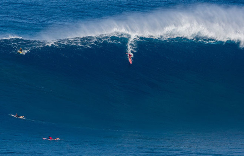 Largest wave surfed paddle-in (male)