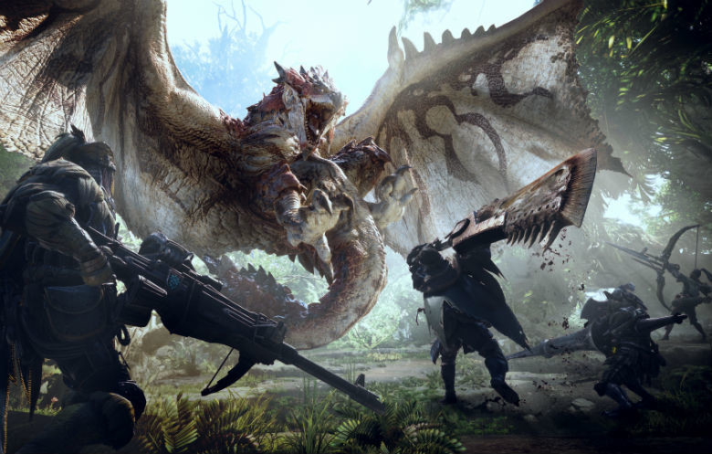 Most large monsters hunted in Monster Hunter: World (Xbox One)