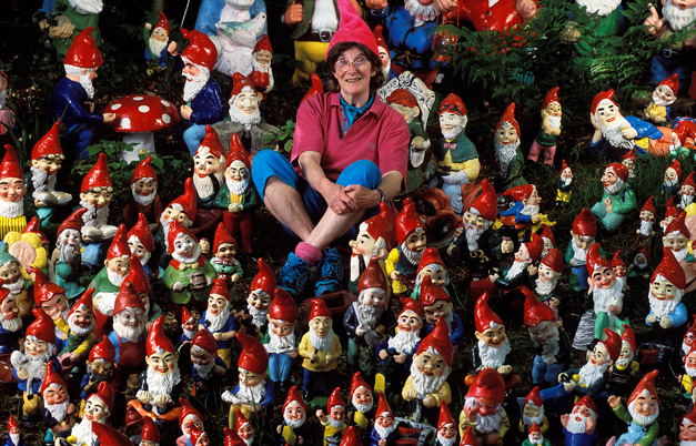 Largest collection of gnomes and pixies