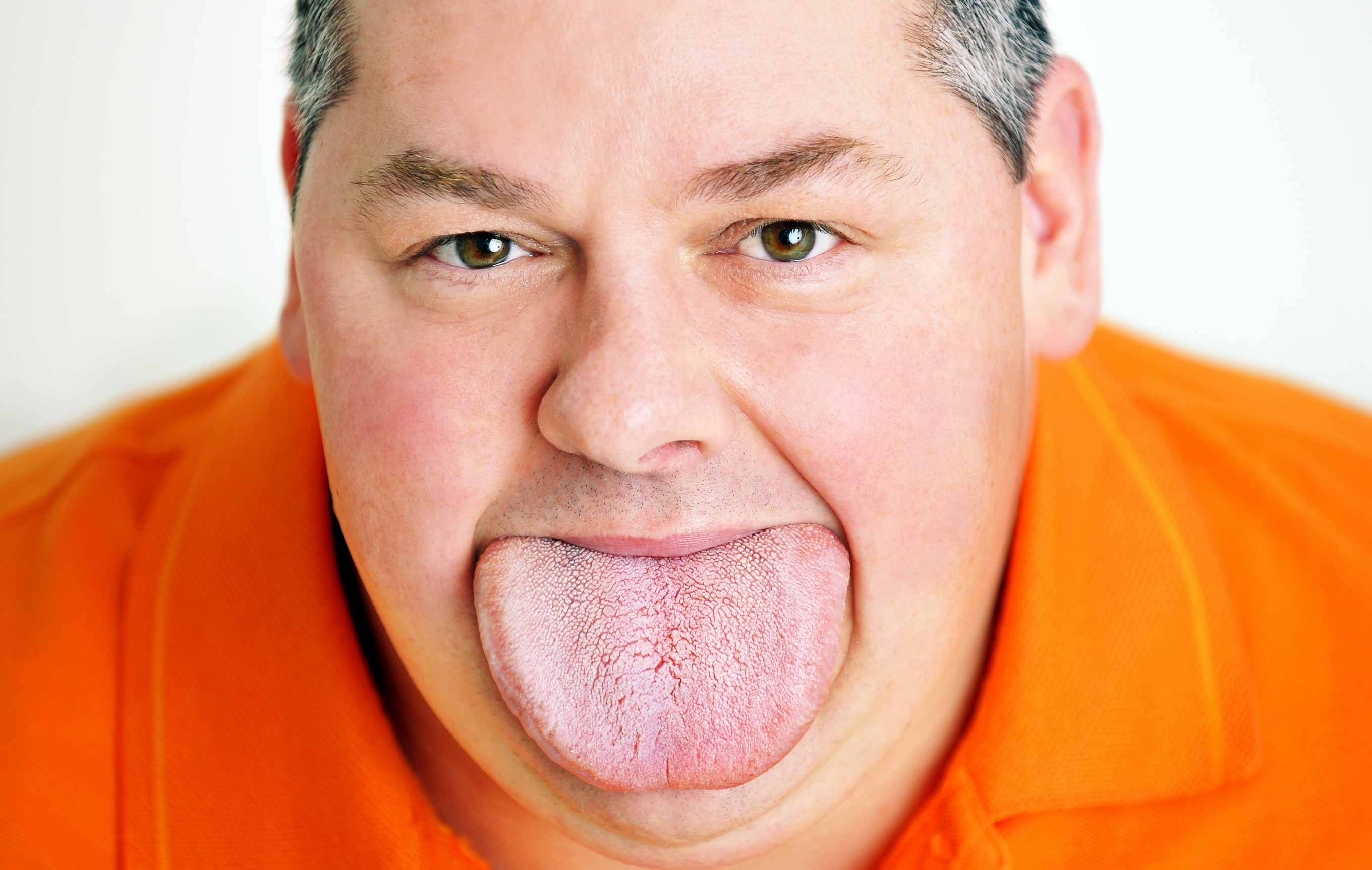 Widest tongue (male)