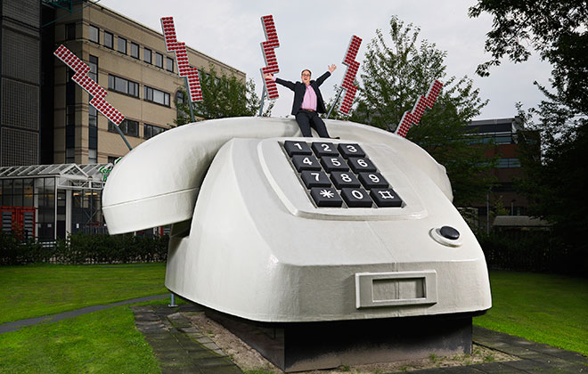 Largest telephone
