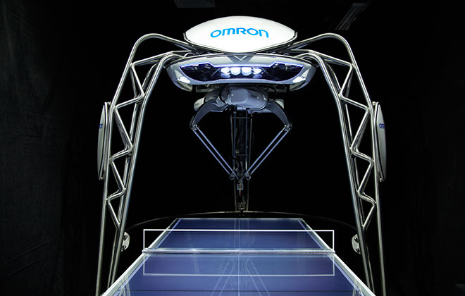First robot table tennis tutor