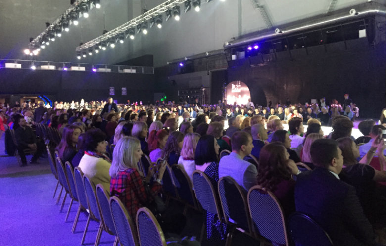 Largest attendance at a fashion show