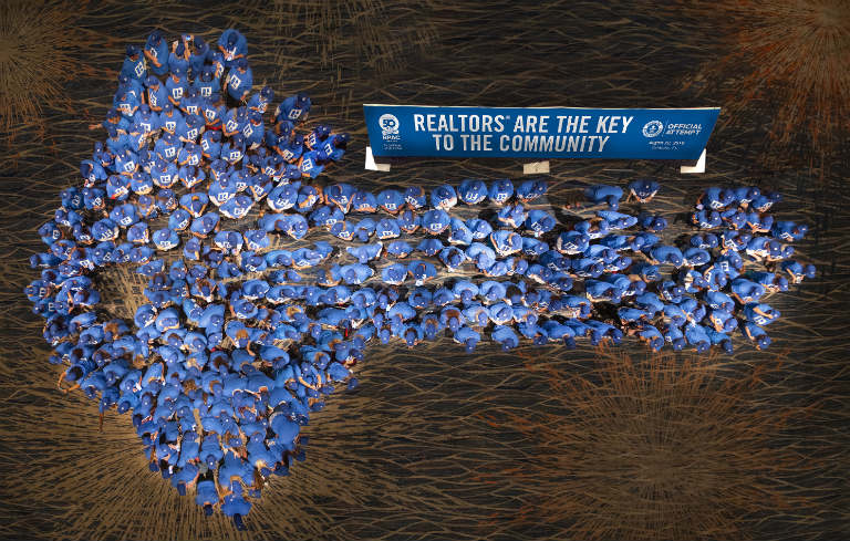 Largest human image of a key