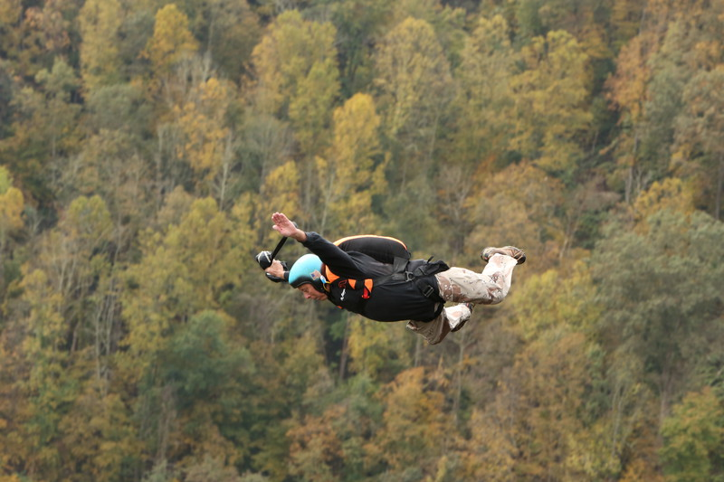 Oldest BASE jumper