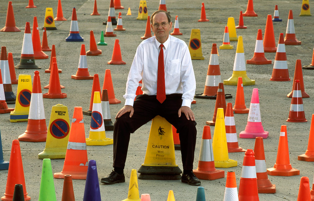 Largest collection of traffic cones