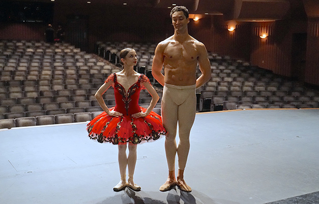 Tallest ballet dancer