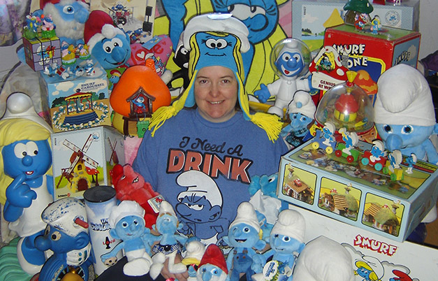 Largest collection of Smurf memorabilia